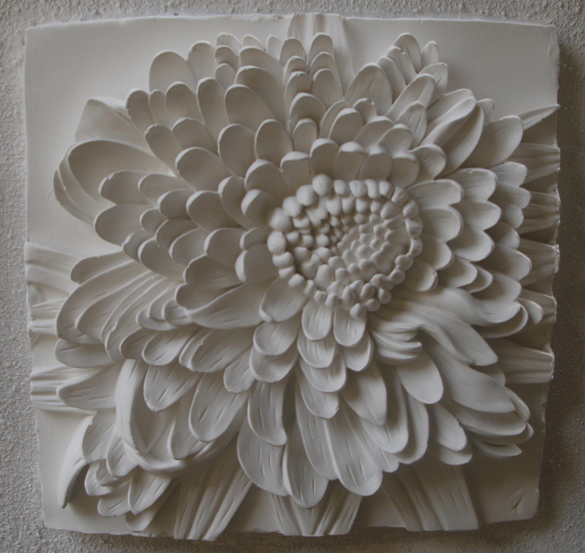 3D Flower Wall Art | Roselawnlutheran With Regard To White 3D Wall Art (Image 1 of 20)