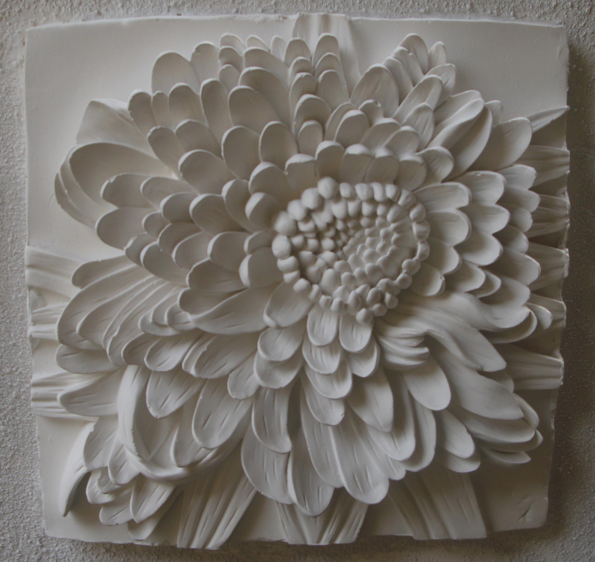 3D Flower Wall Art | Roselawnlutheran with regard to White 3D Wall Art
