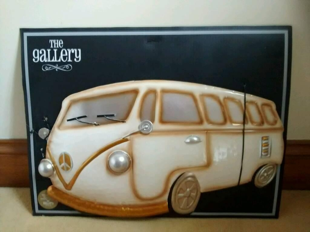3D Metal Wall Art Camper Van | In Dodworth, South Yorkshire | Gumtree In Campervan Metal Wall Art (Image 1 of 20)