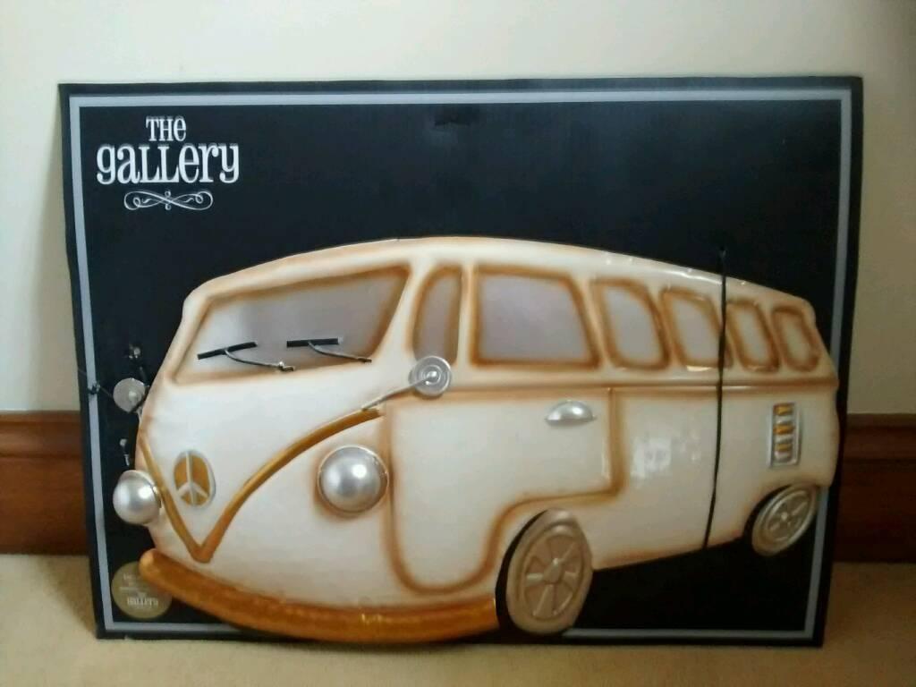 3D Metal Wall Art Camper Van | In Dodworth, South Yorkshire | Gumtree In Campervan Metal Wall Art (View 5 of 20)