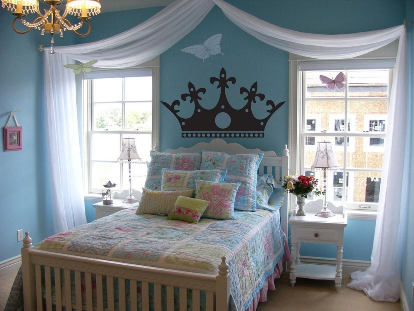 3D Princess Crown Wall Art Decor – Homestylediary Intended For Princess Crown Wall Art (Image 1 of 20)