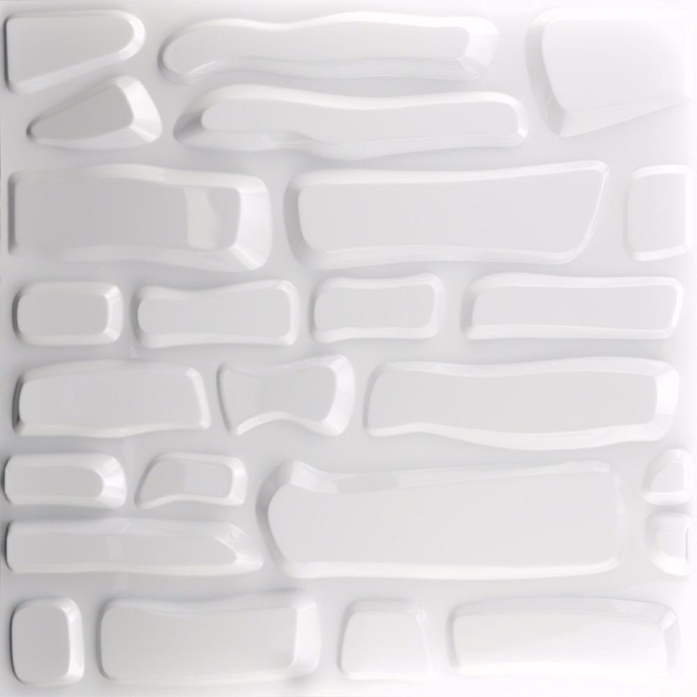 3D Textured Wall Panels Reviews - Online Shopping 3D Textured Wall intended for White 3D Wall Art