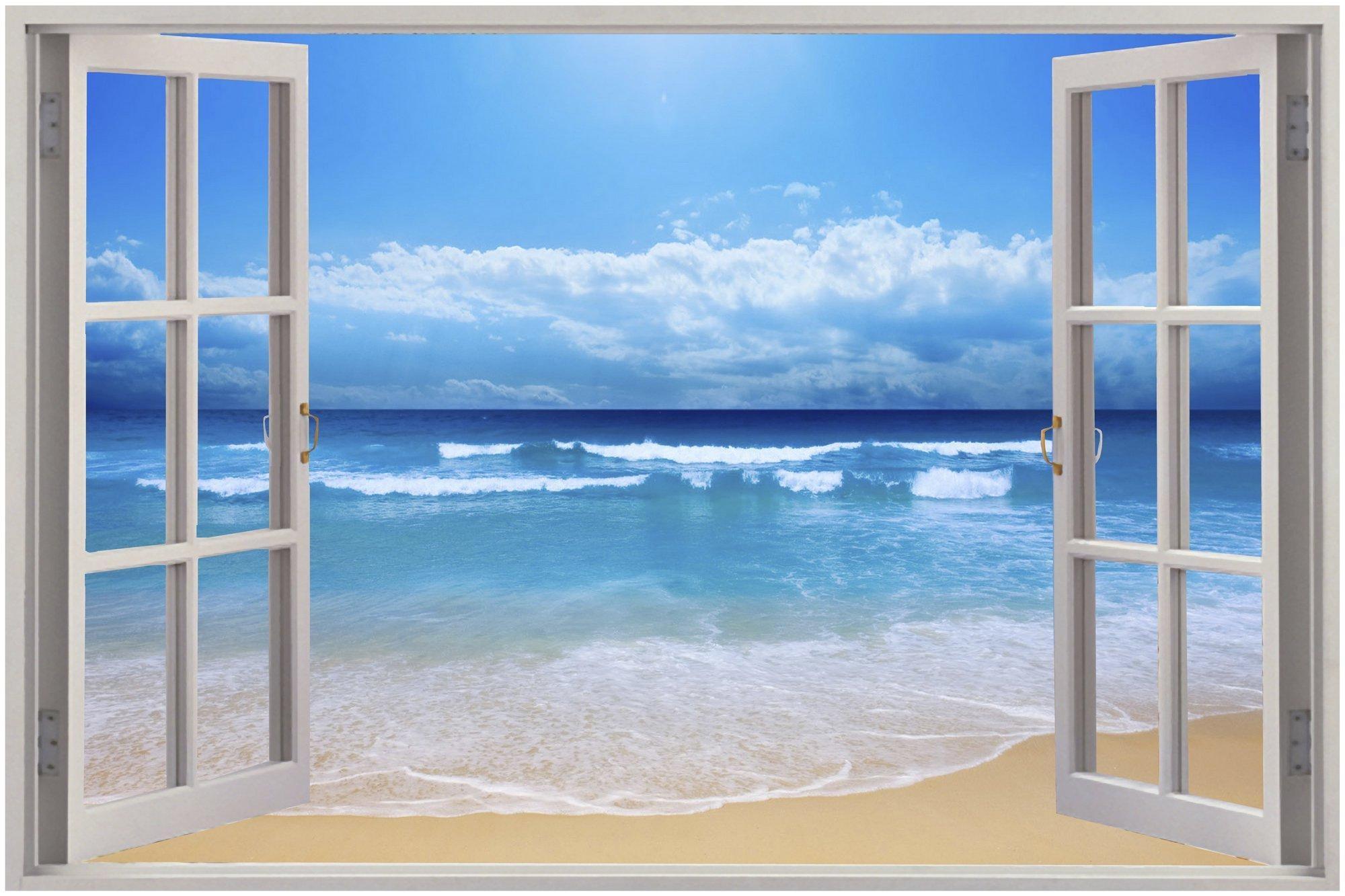 3D Wall Art Beach   Wallartideas Throughout Beach Wall Art (View 8 of 20)