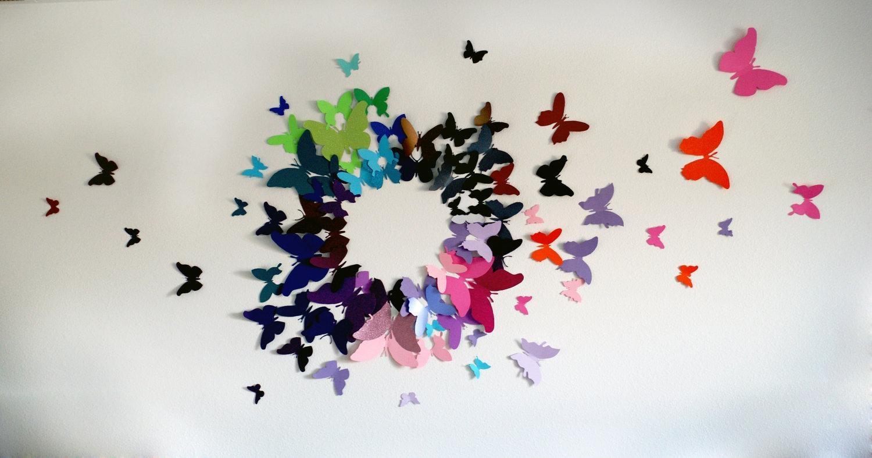 3D Wall Art Circles | Wallartideas for 3D Circle Wall Art