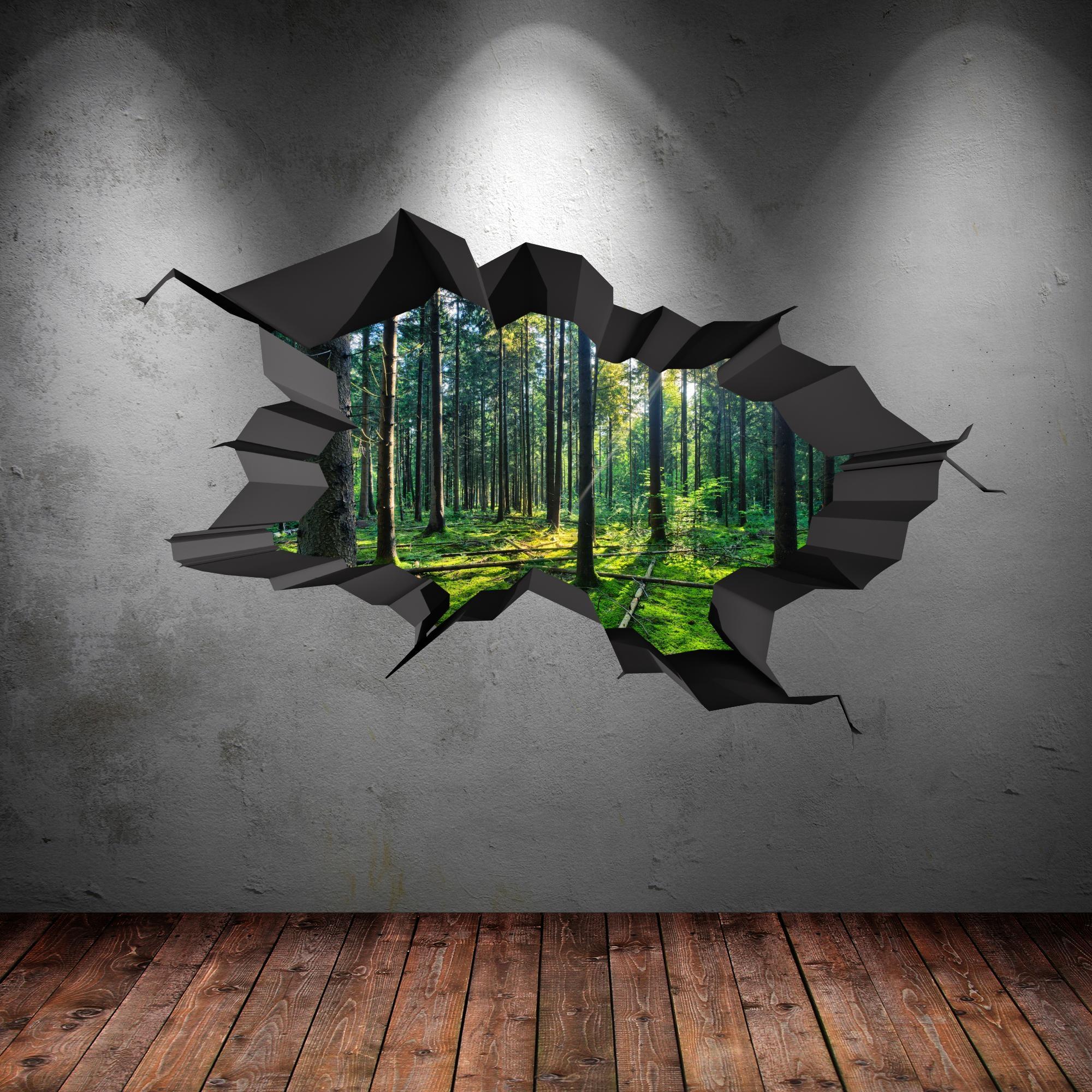 3D Wall Art Stickers | Wallartideas regarding 3D Wall Art
