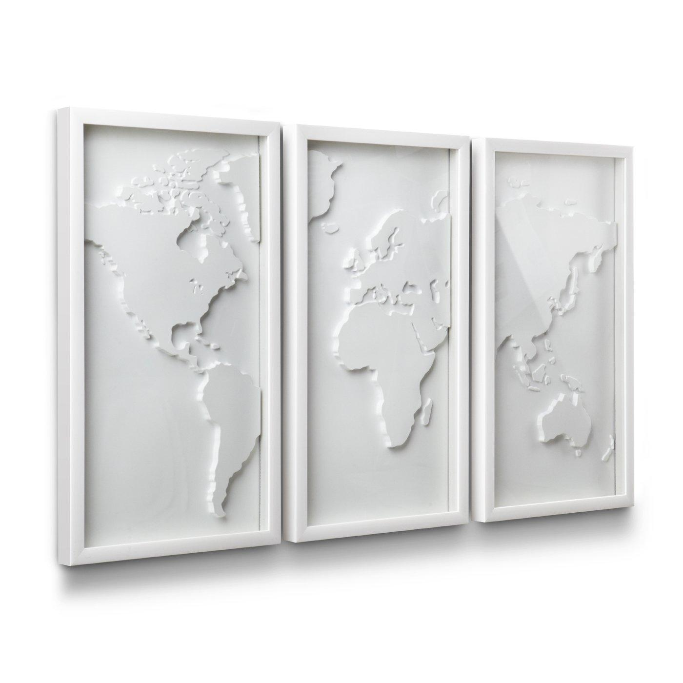 3D Wall Art | Wall Sculptures | Lowe's Canada With Regard To White 3D Wall Art (Image 4 of 20)