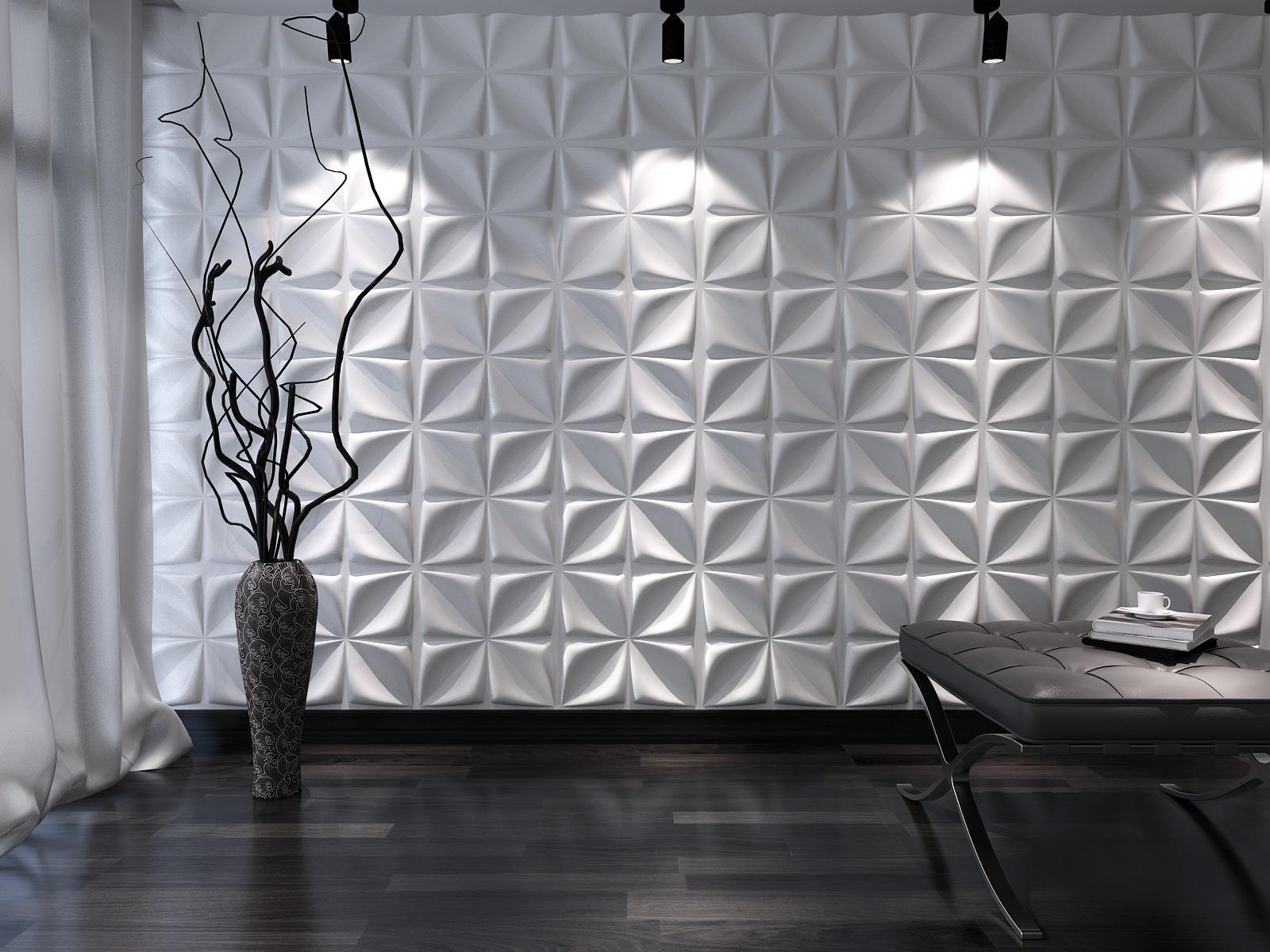 3D Wall Decor Panels Uk. . Wallface Motion Two Wall Panel Wall inside White 3D Wall Art