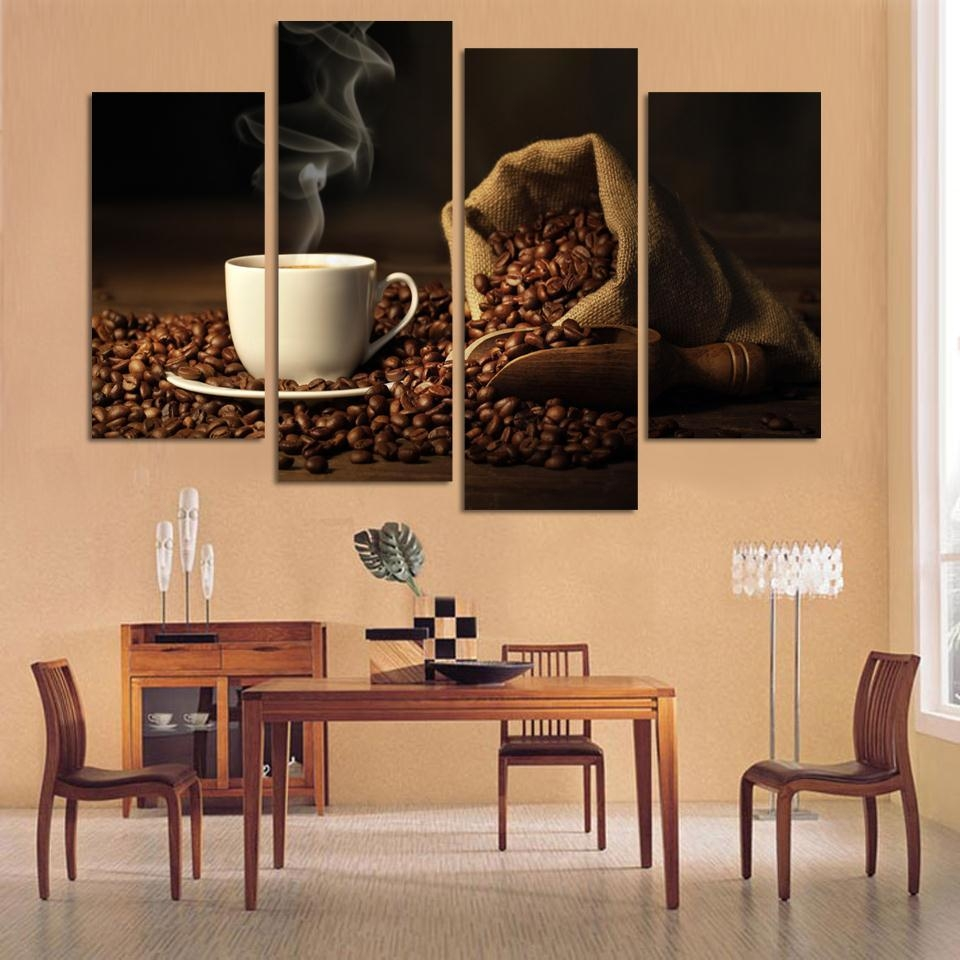 4 Piece Canvas Wall Art - Shenra with regard to Multiple Piece Canvas Wall Art