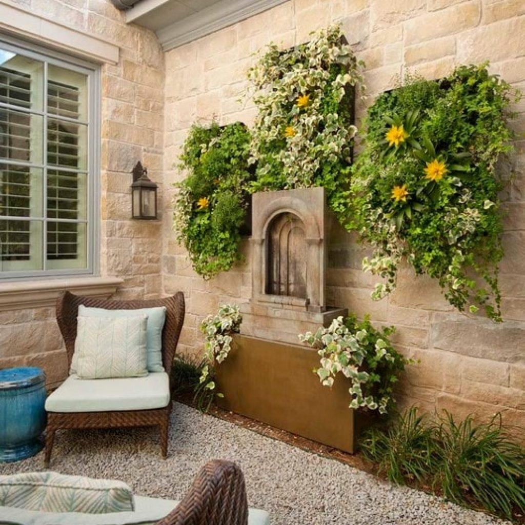 41 ~ Images Enchanting Outdoor Wall Art Ideas. Ambito (View 13 of 20)