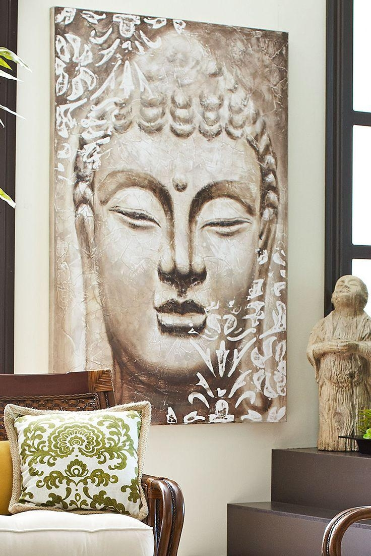 420 Best Buddha Home Decor // Buddha A Lakberendezésben Images On inside Silver Buddha Wall Art
