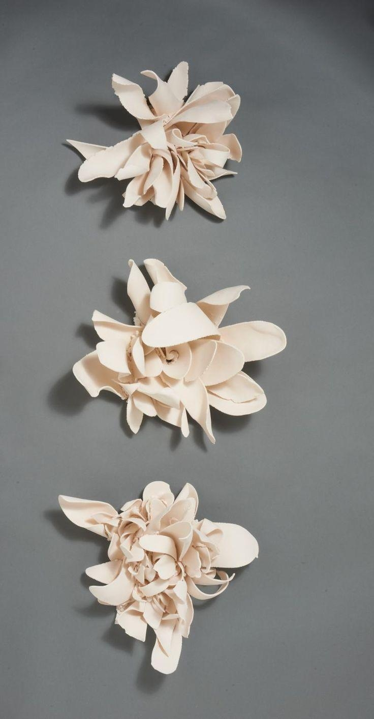 437 Best Ceramic Tiles And Wall Pieces Images On Pinterest | Tiles inside Ceramic Flower Wall Art