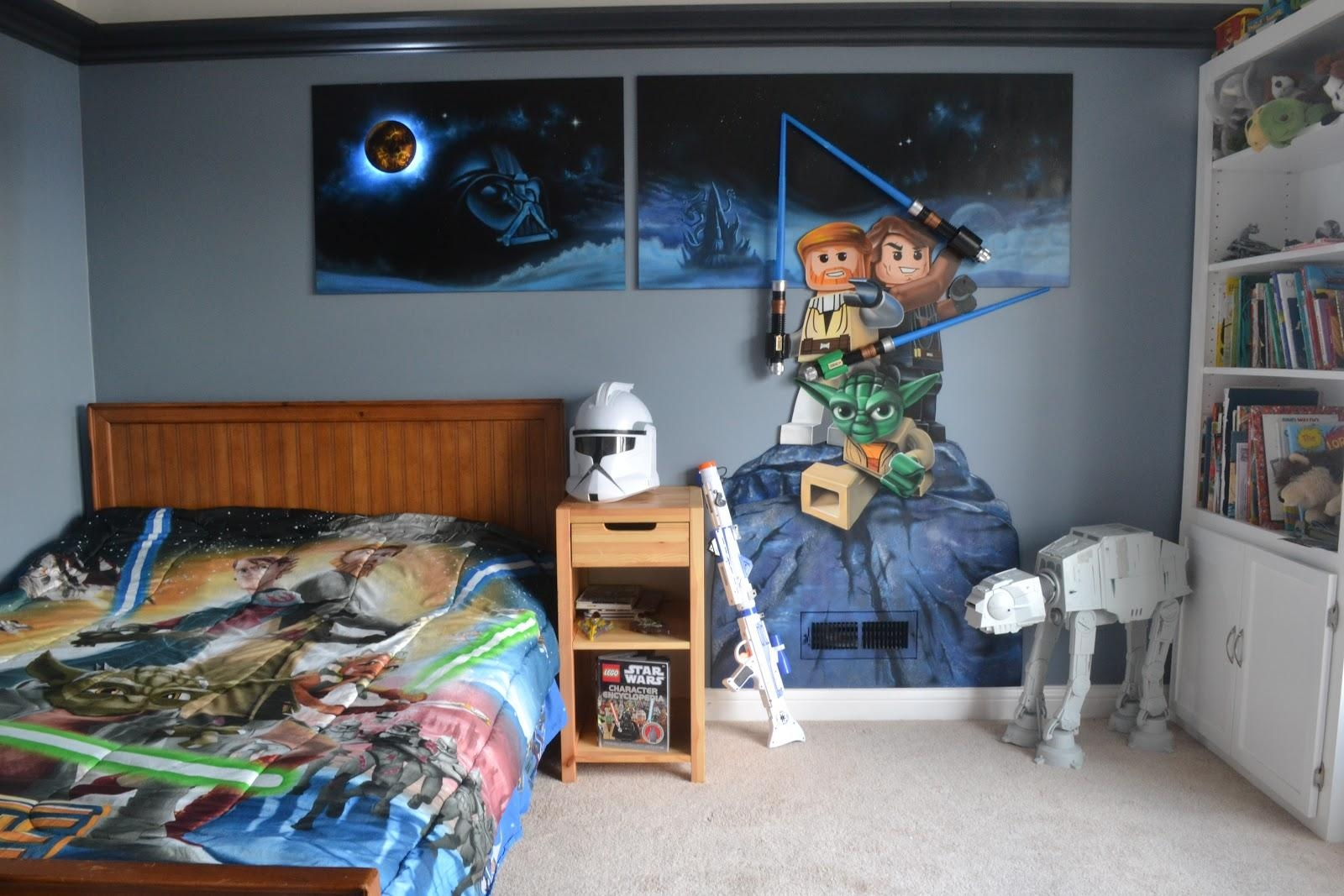 45 Best Star Wars Room Ideas For 2017 throughout Lego Star Wars Wall Art