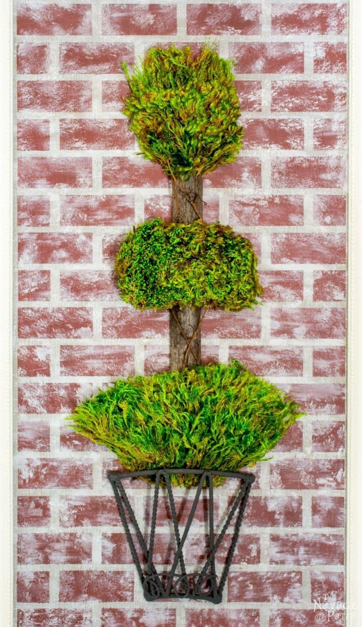 49 Best Dalwi Diy Images On Pinterest | Aprons, Aztec And Balmain with Topiary Wall Art