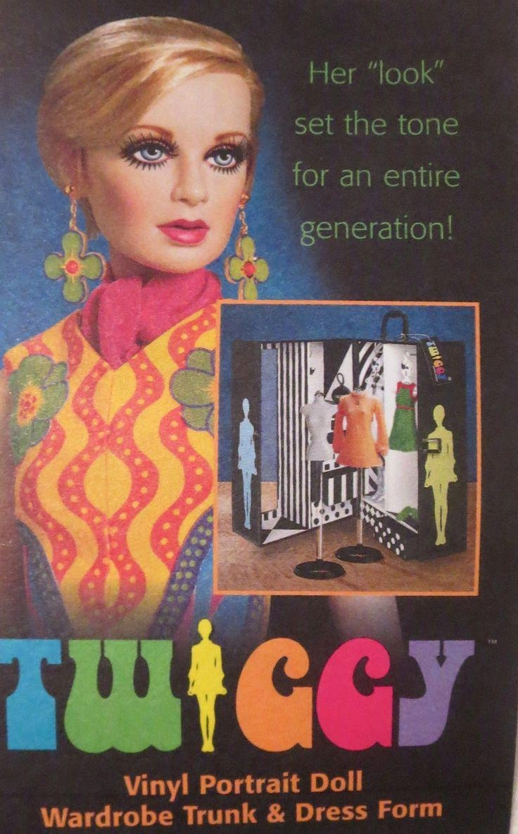 49 Best Franklin Mint Vinyl Fashion Dolls Images On Pinterest With Regard To Twiggy Vinyl Wall Art (Image 1 of 20)