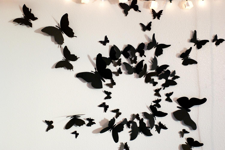 Featured Image of Butterflies 3D Wall Art
