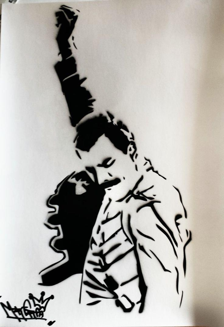 54 Best Art Pop Images On Pinterest | Art Pop, Drawings And Frames Pertaining To Freddie Mercury Wall Art (Image 1 of 20)