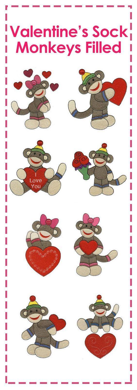 542 Best Diy Sock Monkey Parties Etc (View 10 of 20)