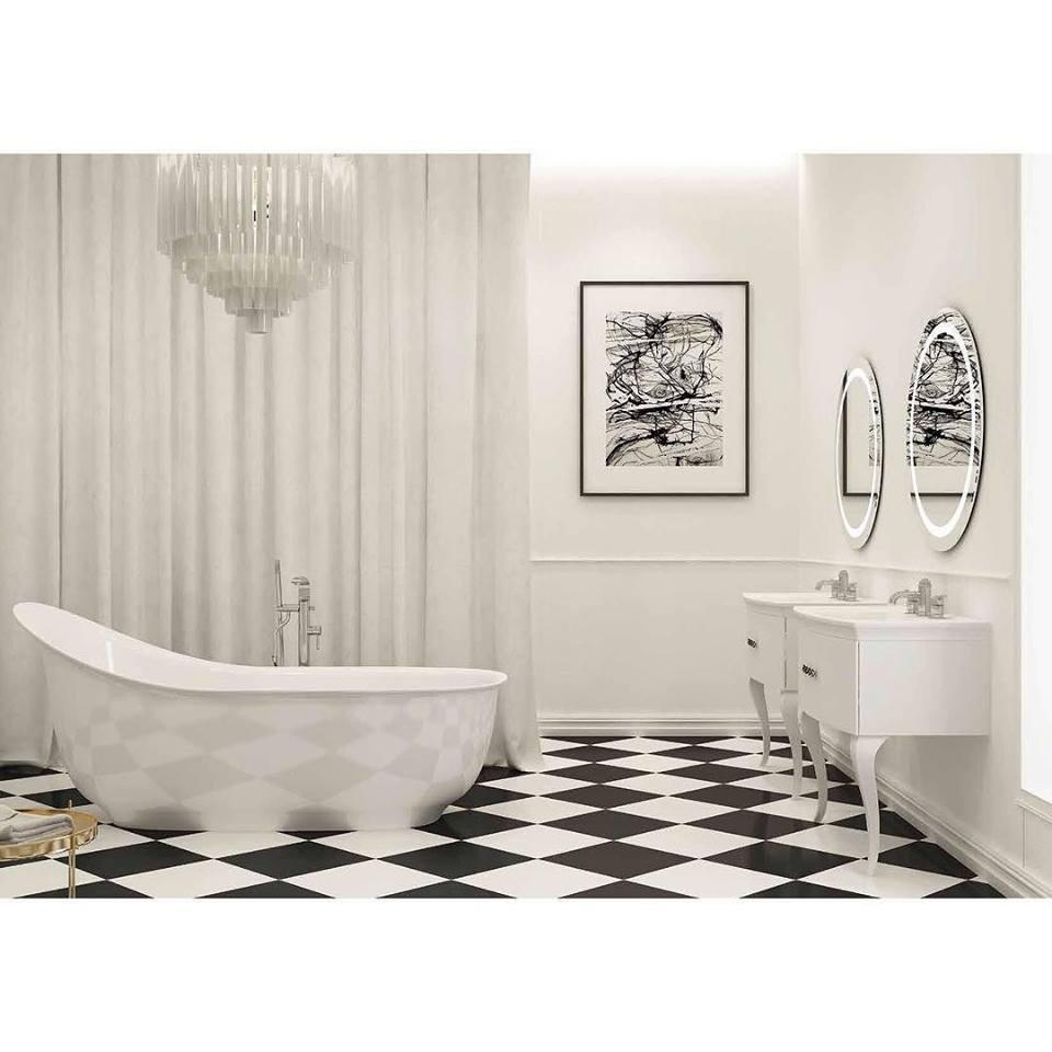 55 Hottest Contemporary Bathroom Ideas To Vow For Inside Contemporary Bathroom Wall Art (Image 1 of 20)