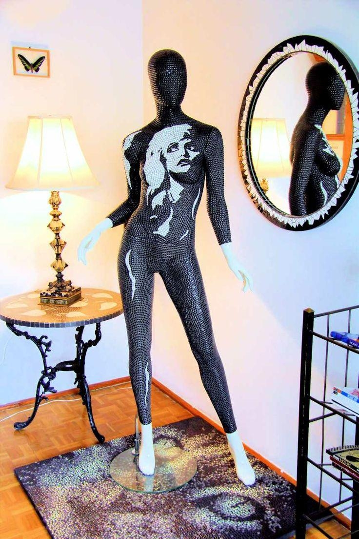 56 Best Mannequins Images On Pinterest | Mannequin Art, Mosaic Art Pertaining To Mannequin Wall Art (Image 9 of 20)