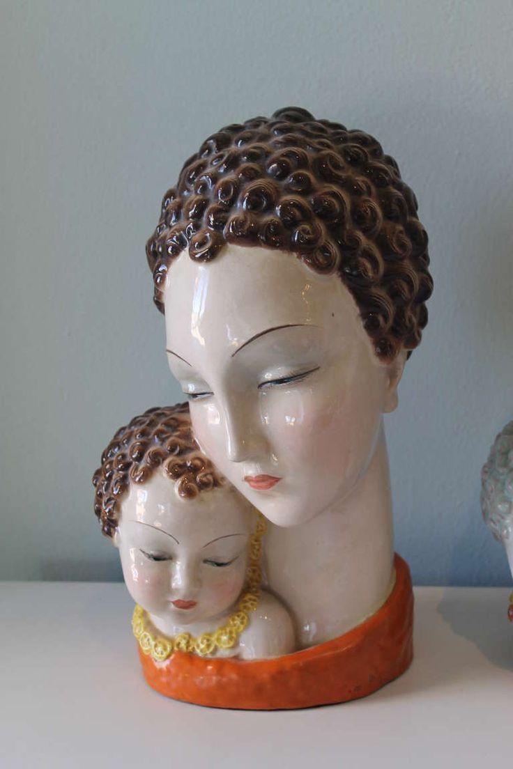 623 Best Wall Face Masks Images On Pinterest | Face Masks, Deco regarding Italian Ceramic Wall Art
