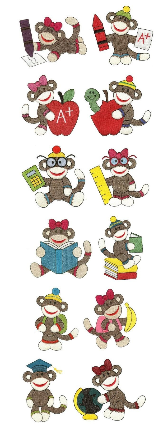 627 Best Images Animaux D'ailleurs Images On Pinterest | Animals throughout Sock Monkey Wall Art