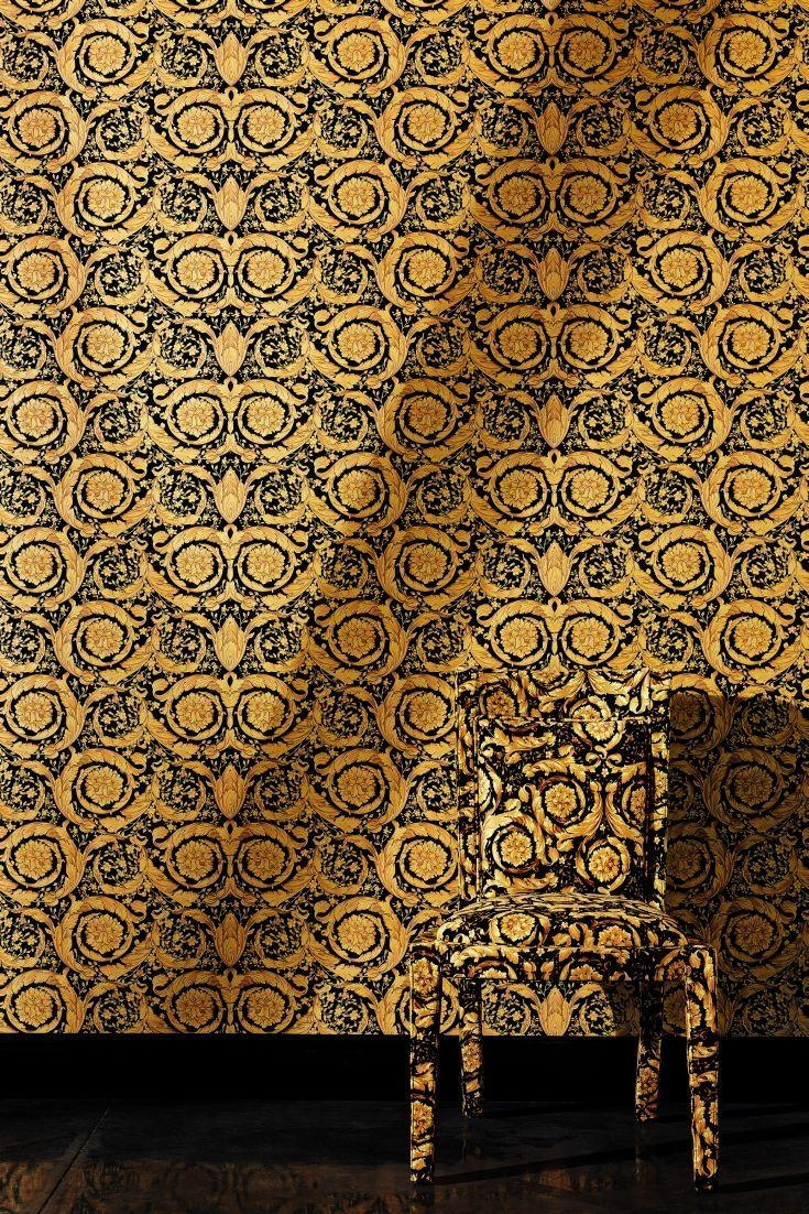 63 Best Trends – Going For Gold Images On Pinterest | True Colors Inside Versace Wall Art (View 12 of 20)