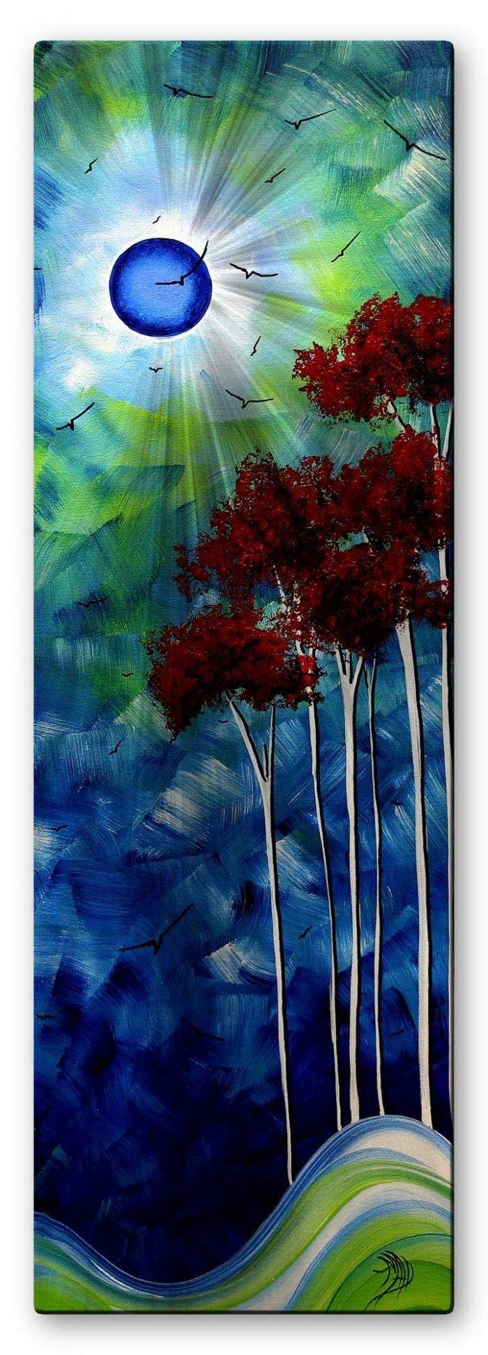 65 Best Artist  Megan Duncanson Images On Pinterest | Abstract Art With Regard To Megan Duncanson Metal Wall Art (Image 2 of 20)