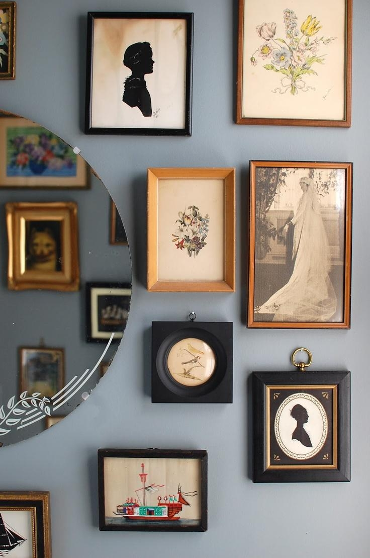68 Best Silhouette Cameo Images On Pinterest | Vintage Silhouette With Cameo Wall Art (Image 3 of 20)