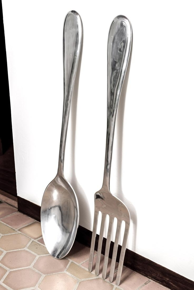 7 Best Spoon/fork Piece Inspiration For Client Images On Pinterest With  Regard To Big