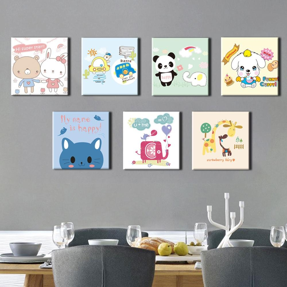 7 Pieces Wall Art Promotion-Shop For Promotional 7 Pieces Wall Art in 7 Piece Canvas Wall Art