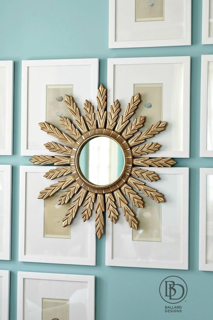 75 Best Sunburst Diy Mirror Ideas Images On Pinterest | Mirrors within Diy Mirror Wall Art
