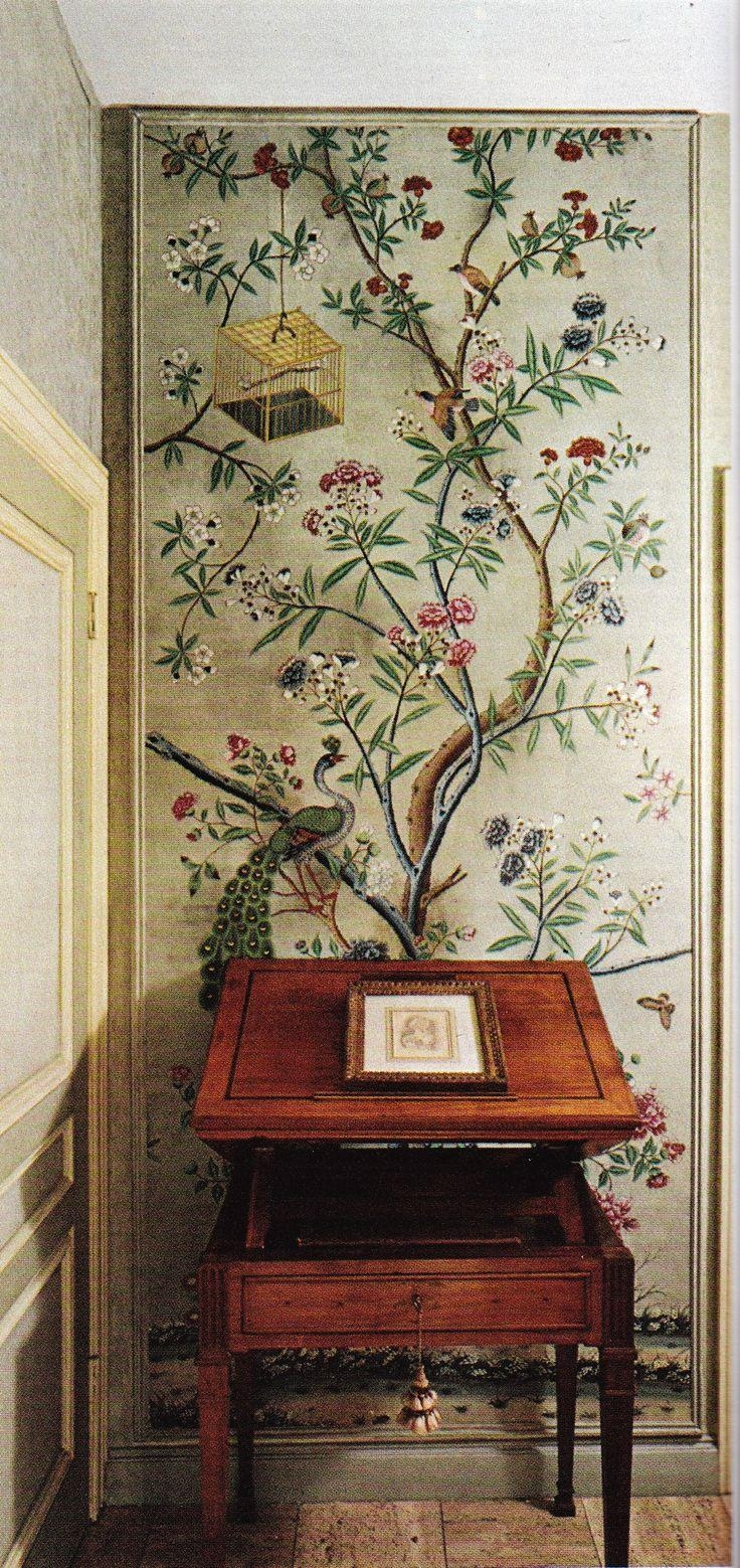 752 Best Chinoiserie Images On Pinterest | Chinoiserie Throughout Chinoiserie Wall Art (Image 3 of 20)