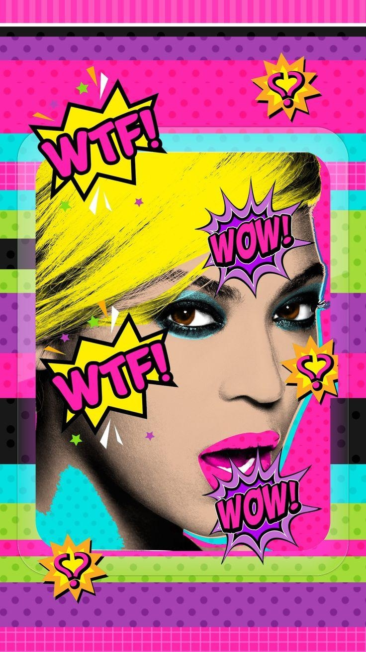 77 Best Pop Art Wallpaper Images On Pinterest | Pop Art, Pop Art Inside Pop Art Wallpaper For Walls (Image 2 of 20)