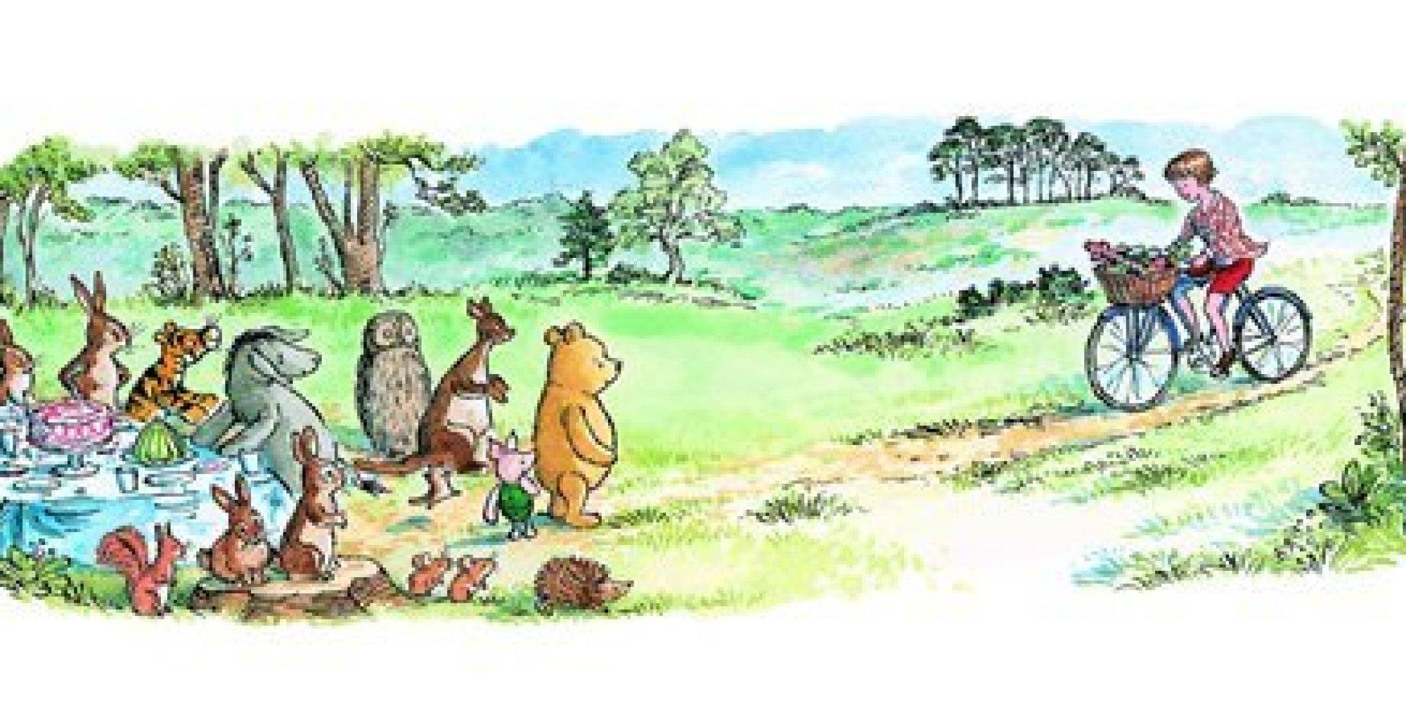 8 Heartbreakingly Adorable Quotes From Winnie The Pooh | Huffpost Regarding Classic Pooh Art (Photo 8 of 20)