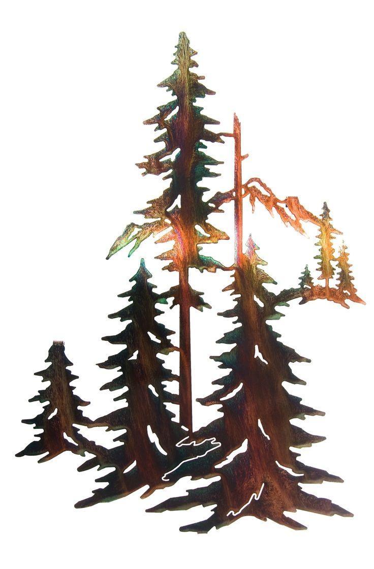 890 Best Metal Cutouts Images On Pinterest | Metal Wall Art, Metal in Mountain Scene Metal Wall Art