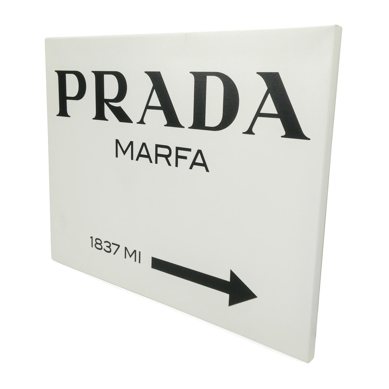 90% Off – Prada Marfa Canvas From Gossip Girl / Decor In Prada Marfa Wall Art (Image 1 of 20)