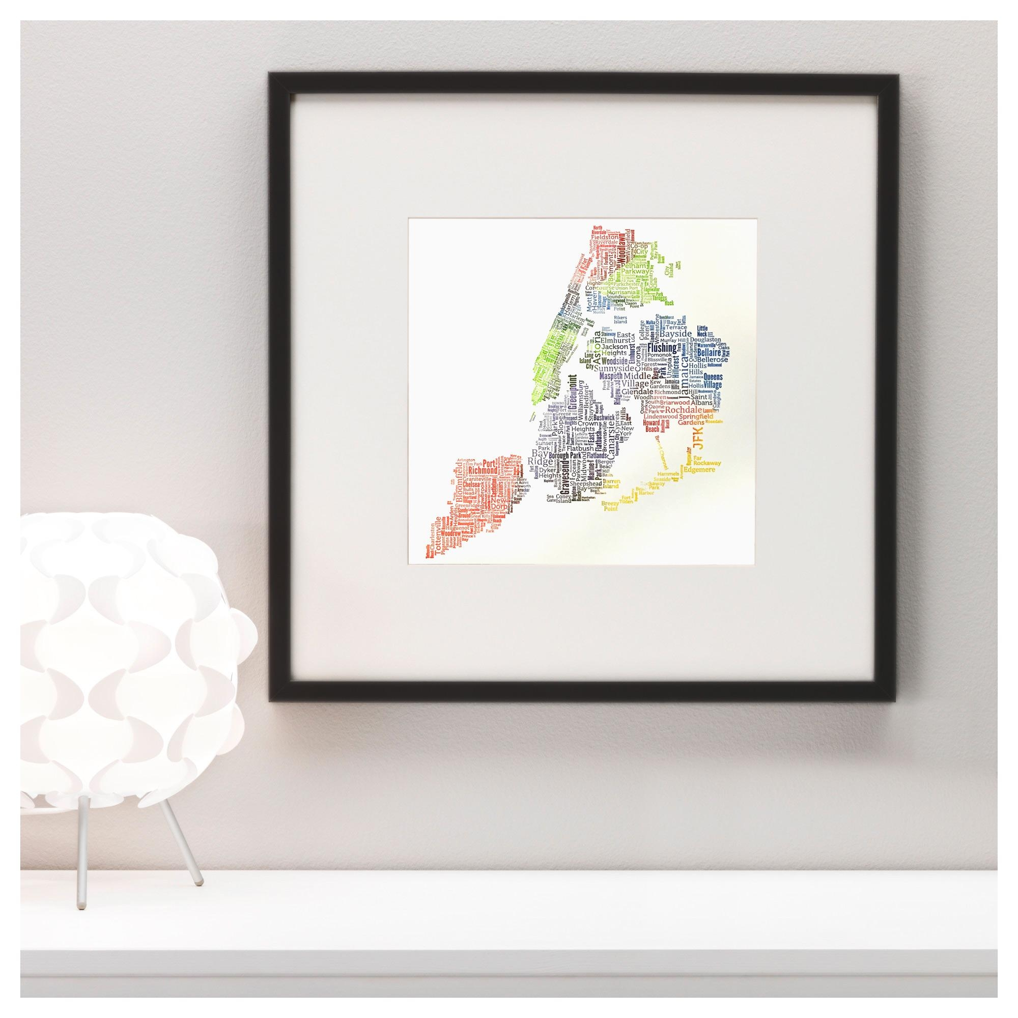 A Limited Edition New York City Pride Letterpress Map Within New York City Wall Art (View 16 of 20)