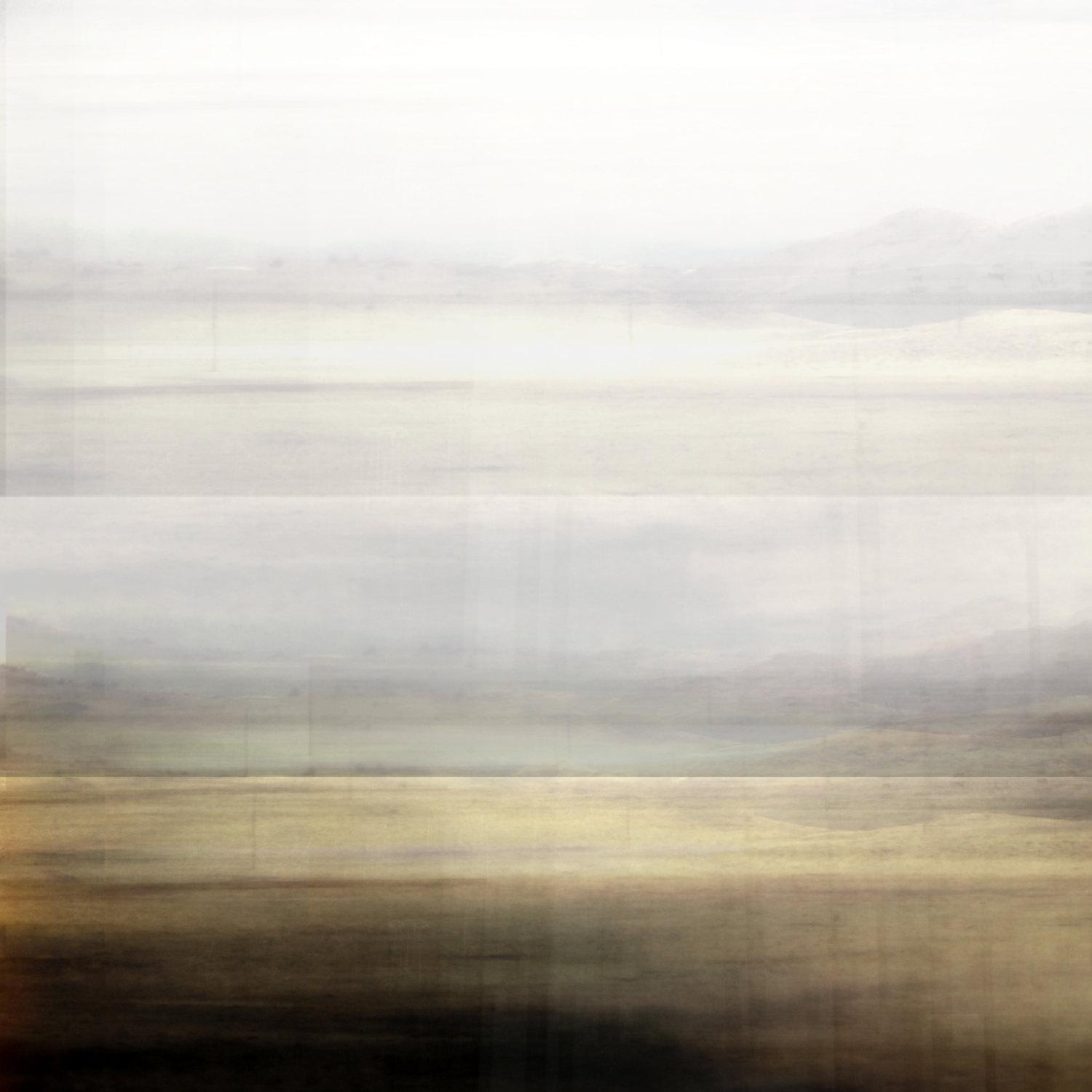 Abstract Minimal Landscape Modern Wall Art Contemporary Art Pertaining To Neutral Wall Art (Image 4 of 20)