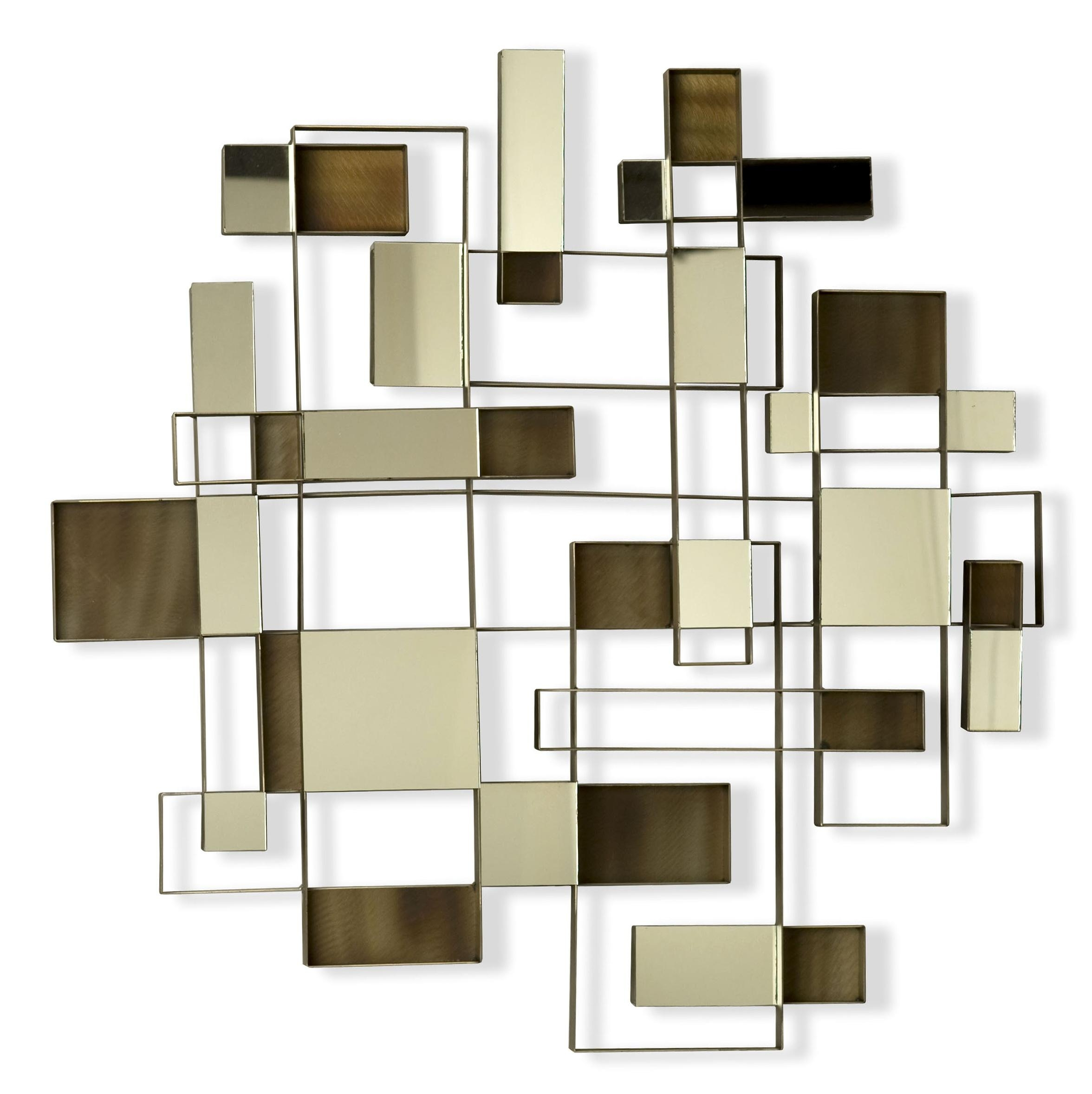 Abstract Mirror Wall Art Home Design Ideas ~ Loversiq With Regard To Abstract Mirror Wall Art (Image 3 of 20)