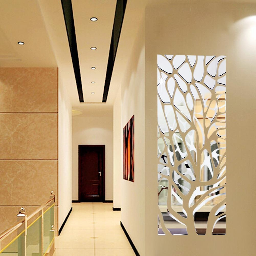 Featured Image of Abstract Mirror Wall Art