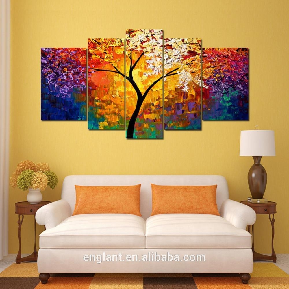Abstract Wall Art Canvas Oil Painting – Buy Canvas Oil Painting Throughout Oil Painting Wall Art On Canvas (View 7 of 20)
