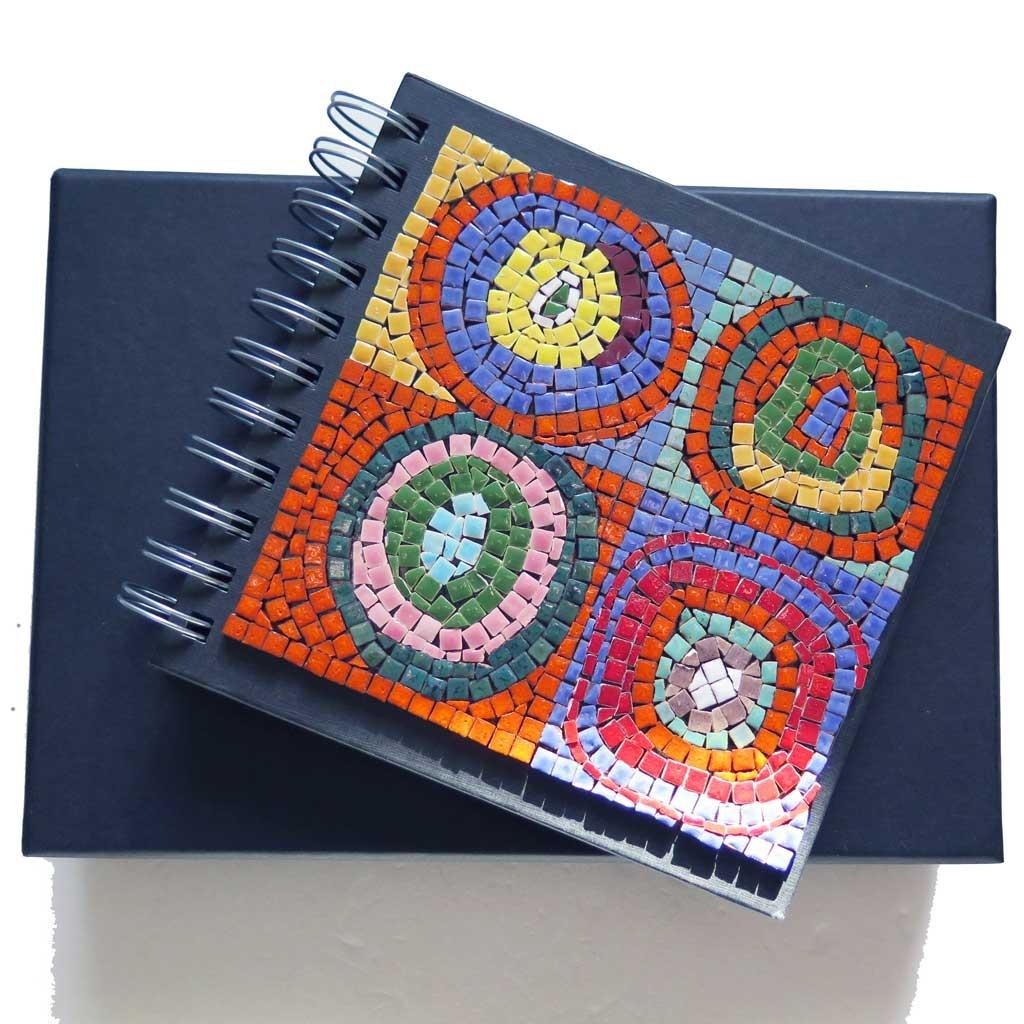 Adult Mosaic Kit Inspiredwassily Kandinsky With Mini Mosaic Inside Mosaic Art Kits For Adults (View 8 of 20)