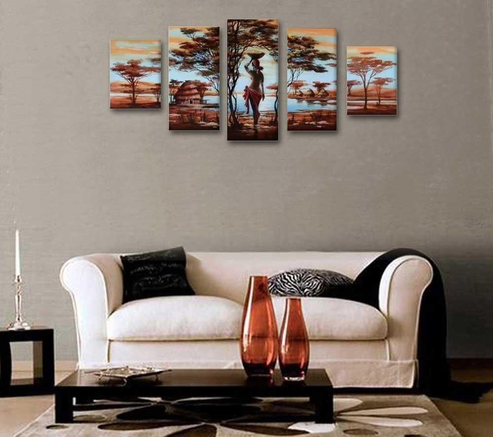 African American Wall Art And Decor Hand Painted Wood Framed Throughout African American Wall Art (View 9 of 20)