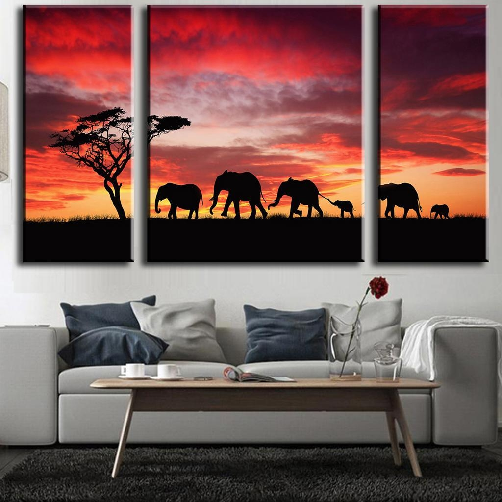 Aliexpress : Buy 3 Pcs/set Fashion Modern Wall Painting In 3 Pc Canvas Wall Art Sets (Image 10 of 20)
