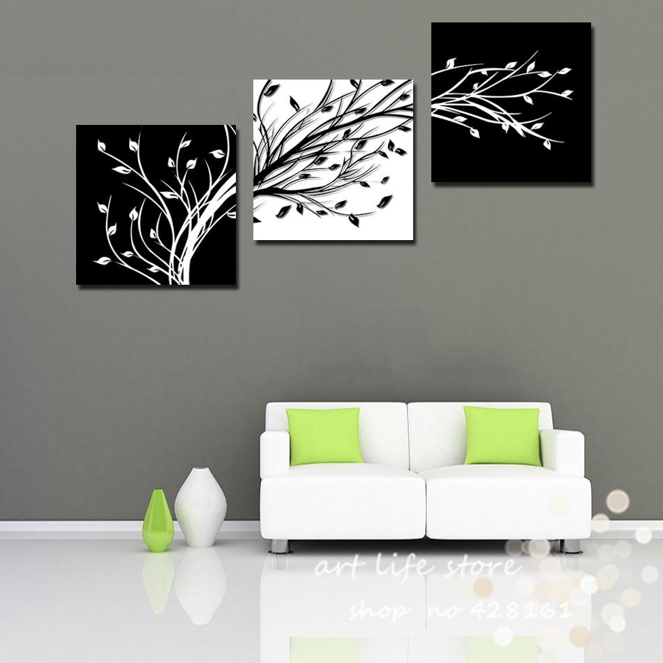 Aliexpress : Buy 3 Piece Wall Art Modern Abstract Large Cheap Intended For Big Cheap Wall Art (View 11 of 20)