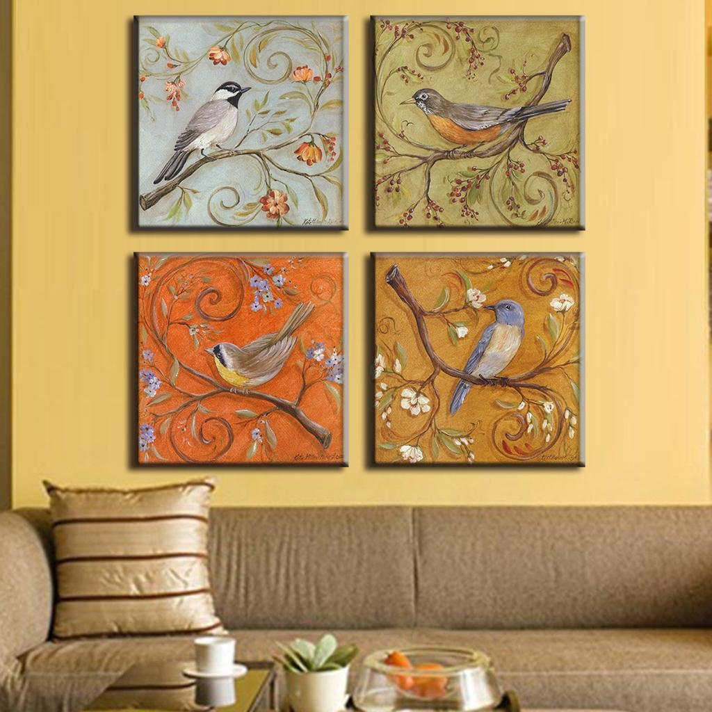 Aliexpress : Buy 4 Pcs/set Traditional Chinese Modern Wall In Chinoiserie Wall Art (View 13 of 20)