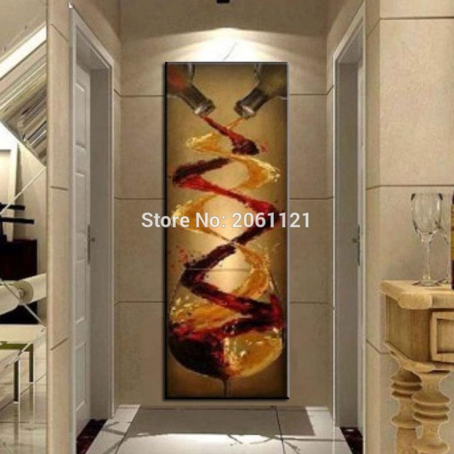 20 photos long vertical wall art wall art ideas for Wall artwork paintings