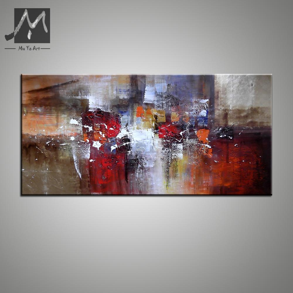Aliexpress : Buy Abstract Modern Large Canvas Wall Art Huge In Huge Canvas Wall Art (Image 5 of 20)