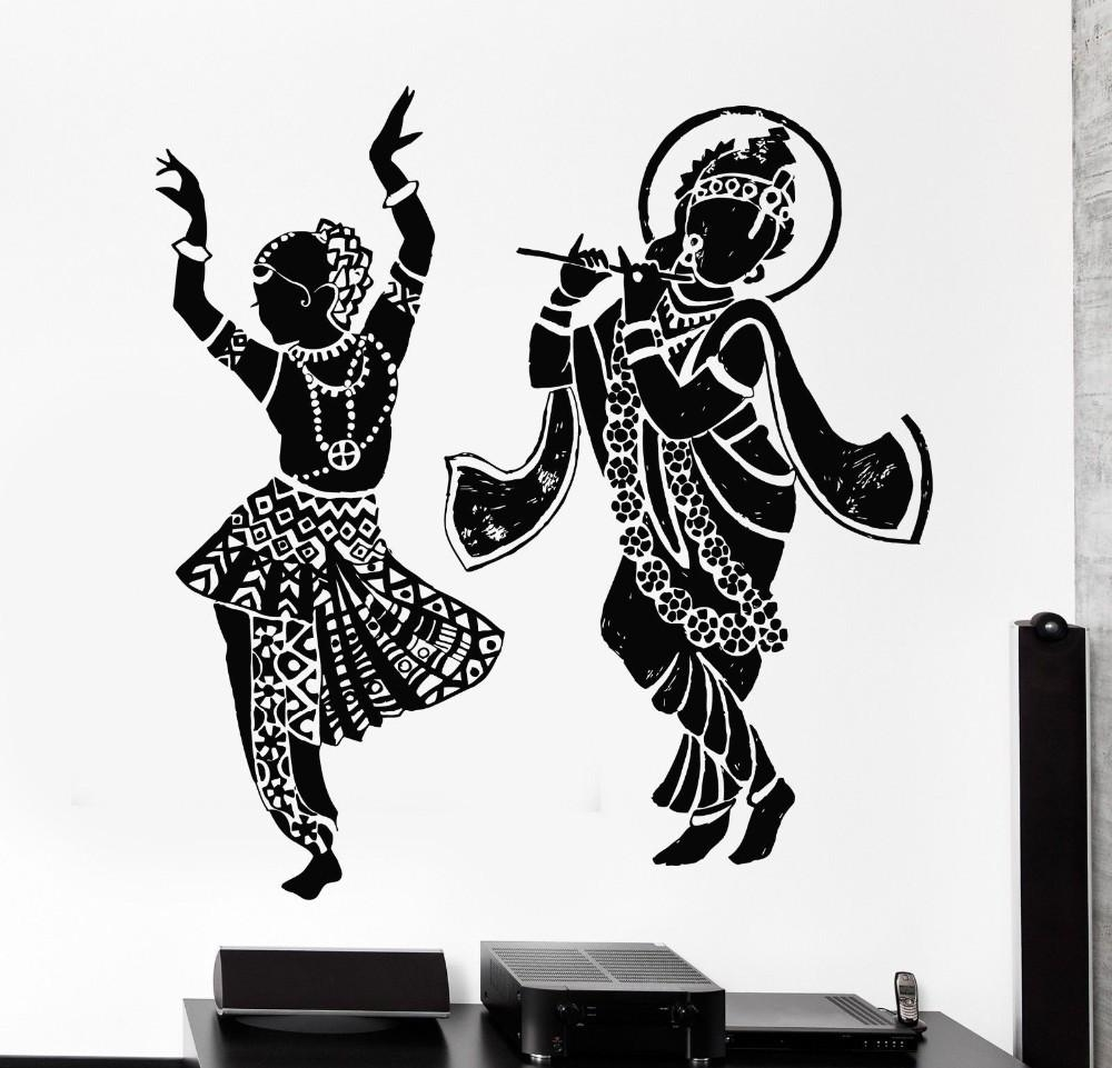 Aliexpress : Buy Cheap Indian Buddha Dance Hinduism Wall Decal Regarding Ganesh Wall Art (View 5 of 20)