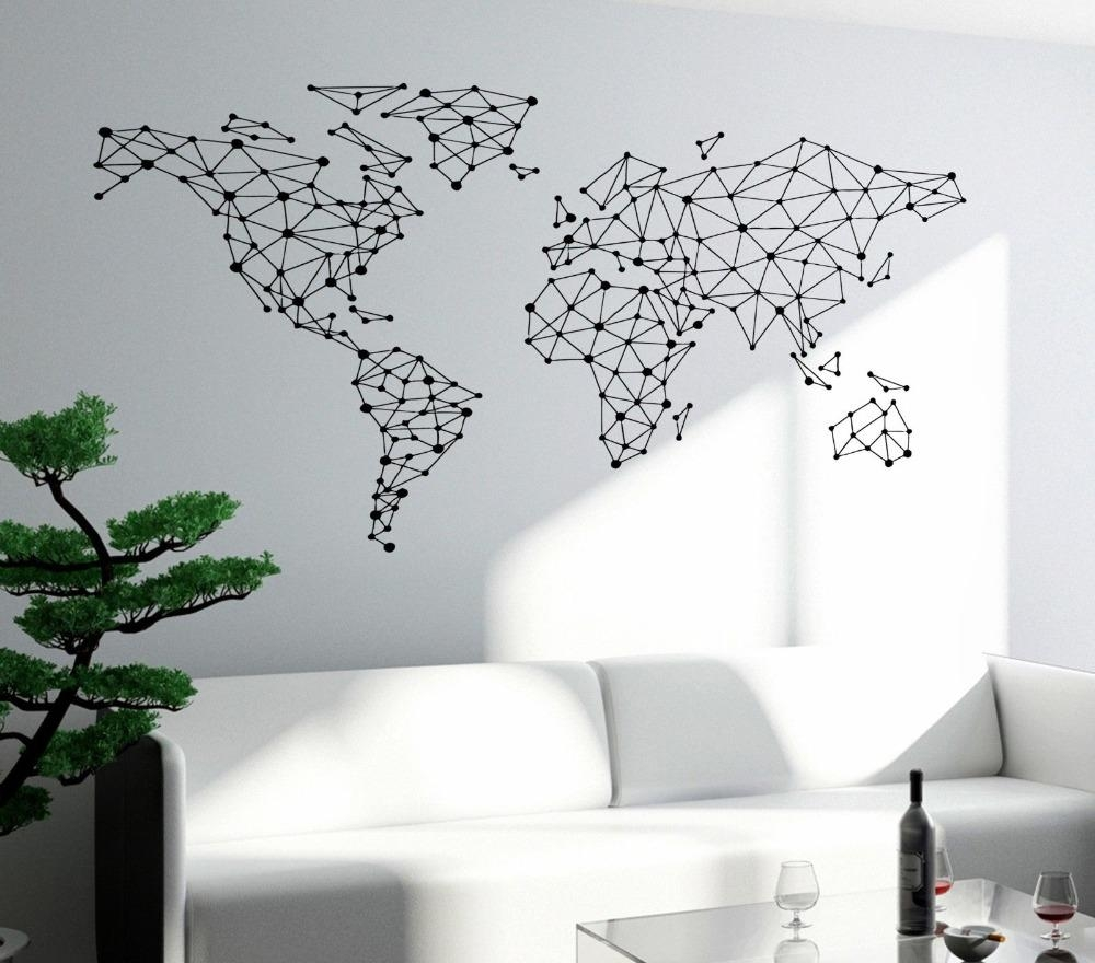 Aliexpress : Buy Free Shipping Art Wall Sticker Special World Throughout World Wall Art (Image 1 of 20)